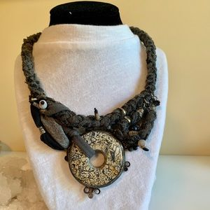 Jewelry - Multimedia Statement Neckalce